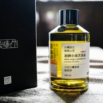藏山椿工坊-初榨小果苦茶油