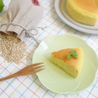 糙米輕乳酪蛋糕-檸檬4吋