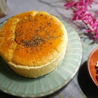 糙米輕乳酪蛋糕-無糖堅果6吋